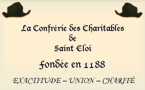 confrérie des charitables de Saint Eloi