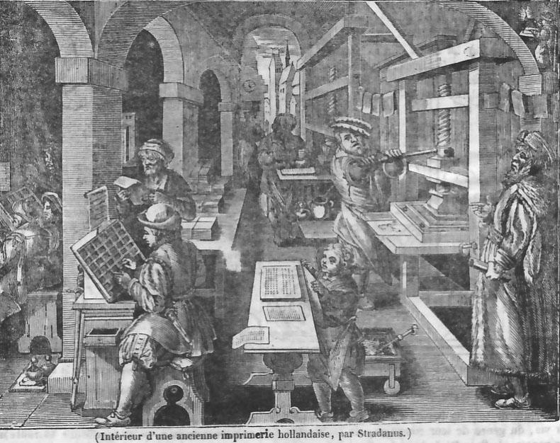 Anciens métiers par ordre alphabétique. - Page 6 Imprimerie