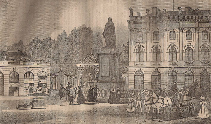 Nancy Place Royale en 1834
