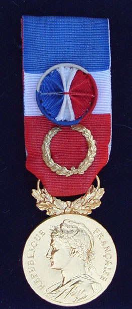 médaille grand or