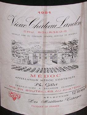 vin chateau landon